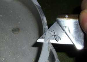 Удалить старые Кирби герметик