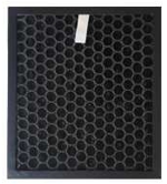 Activated carbon panel