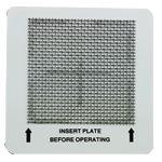 Ceramic ozone plate